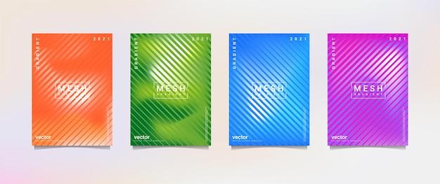 Gradationshintergrund-set geeignet für hintergrundplakat-hintergrundbild-handy-bildschirmbanner und andere