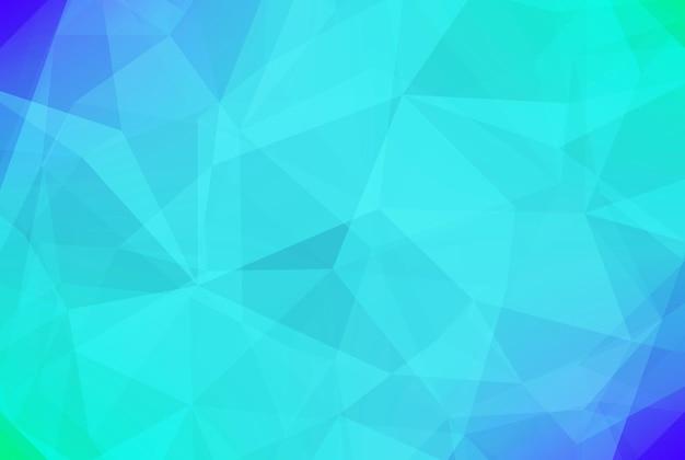 Gradient abstrakter horizontaler dreieckhintergrund