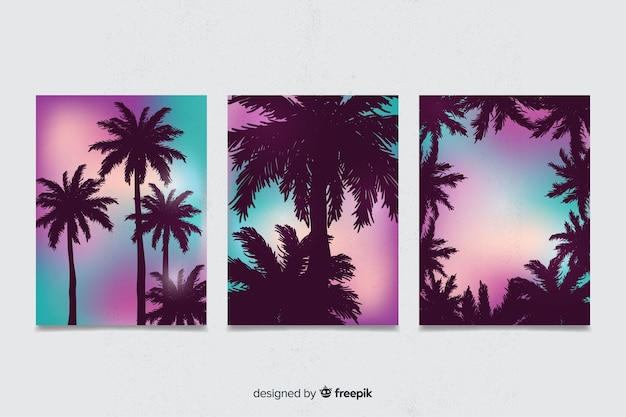 Gradient beach cover-auflistung
