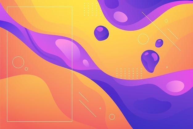 Gradient flüssiger abstrakter hintergrund