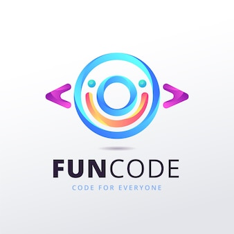 Gradient funcode logo