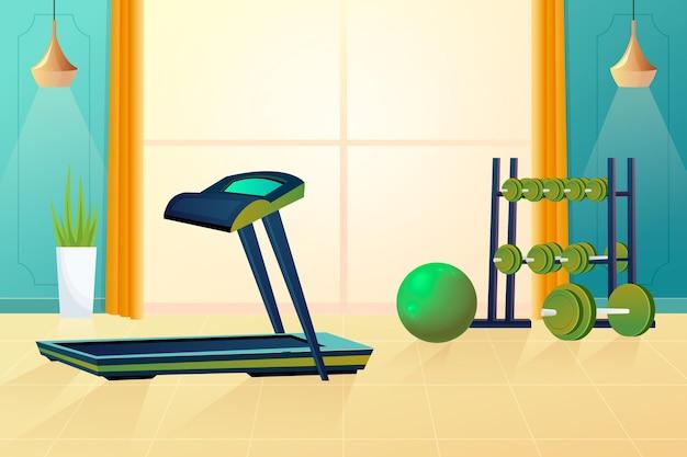 Gradient heim-fitnessstudio