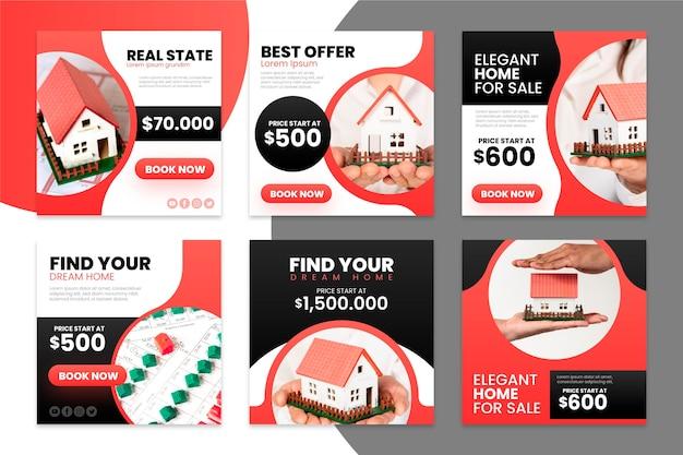 Gradient immobilien instagram beiträge