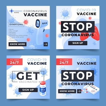 Gradient impfung instagram geschichten sammlung