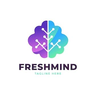 Gradient logo für psychische gesundheit