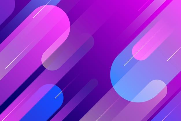 Gradient violetter und blauer abstrakter hintergrund