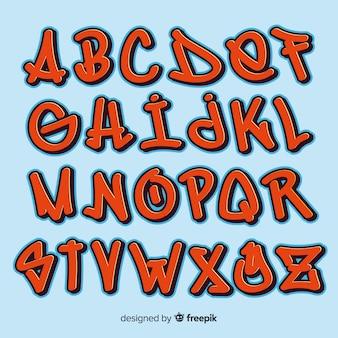 Graffiti-alphabet