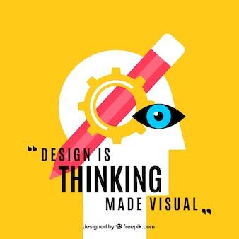 Grafik-design-angebot in flachen stil