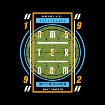 Grafik kreis abstrakte design vektor t-shirt