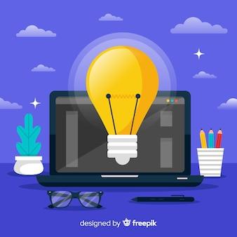 Grafikdesign idee hintergrund