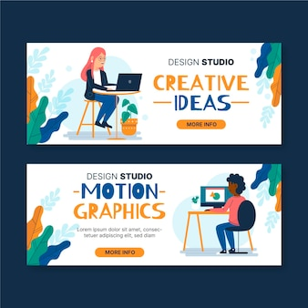 Grafikdesigner banner design
