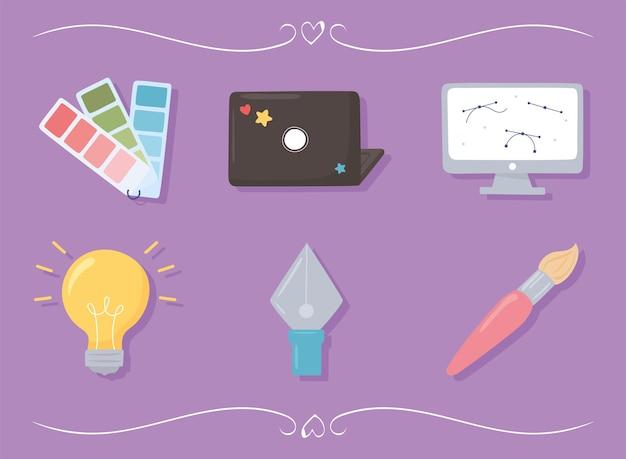 Grafikdesigner-set