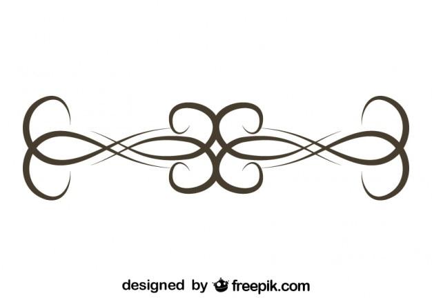 Grafikelement retro einfaches design