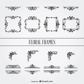 Grafische elemente freien vektor