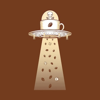 Grafische illustration kunst t-shirt design