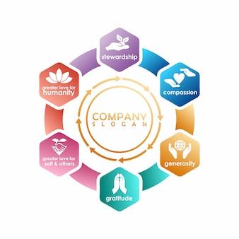 Grafisches logo-design