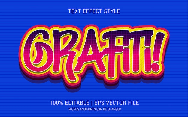 Grafiti! text effekte stil