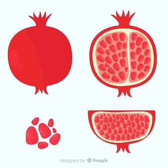 Granatapfel-sammlung