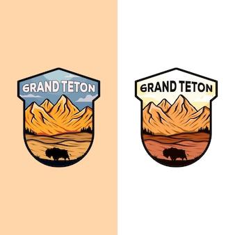Grand teton abzeichen