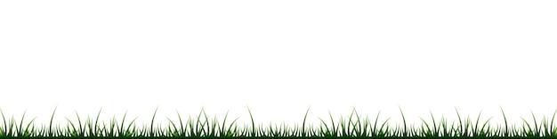 Gras, rasen, feldgrenze