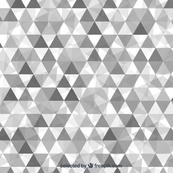 Grau dreiecke hintergrund