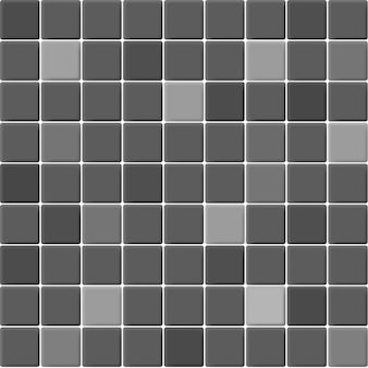 Grau und schwarz die keramikmosaikfliesen wand hochauflösend. ziegel nahtlos und textur innen sauberen hintergrund.