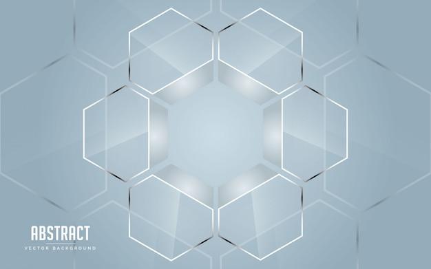 Graue farbe des abstrakten hintergrundes und weiße farbe modernes geometrisches