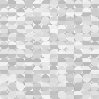 Graue kreise textur. nahtloser hintergrund. vektor-eps10