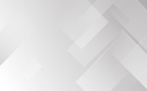 Graue und weiße abstrakte hintergrundgeometrie glänzen und schichtelementkonzept-gebäudestrukturvektorillustration.