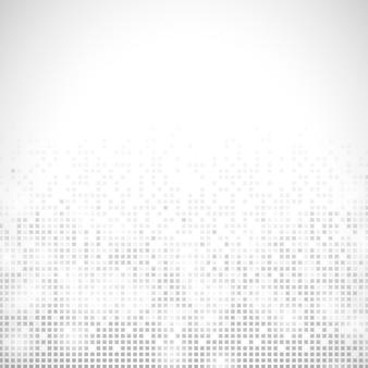 Grauer abstrakter pixelkunstvektorhintergrund