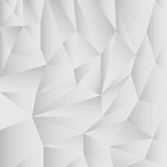 Grauer abstrakter polygonhintergrund