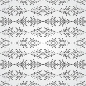 Grauer farbton-dekorativer strudel-hintergrund