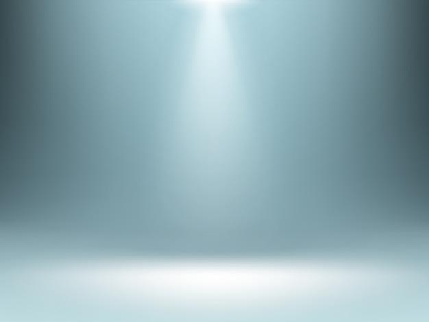 Grauer farbverlaufshintergrund, beleuchtet beleuchtung
