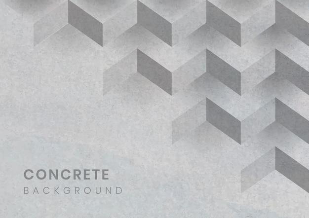Grauer geometrischer moderner hintergrund 3d