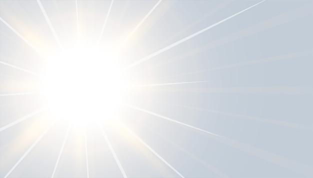 Grauer hintergrund mit leuchtendem lichteffektdesign