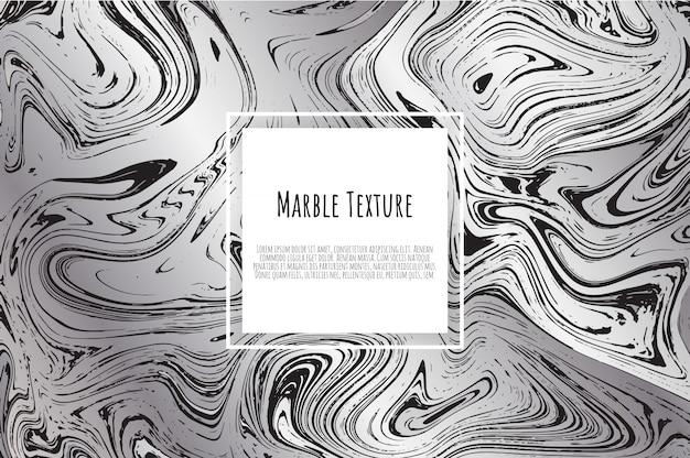 Grauer, schwarzer, weißer marmorhintergrund
