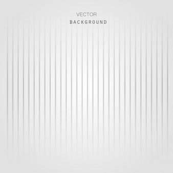 Grauer und weißer abstrakter hintergrund mit linien vektor