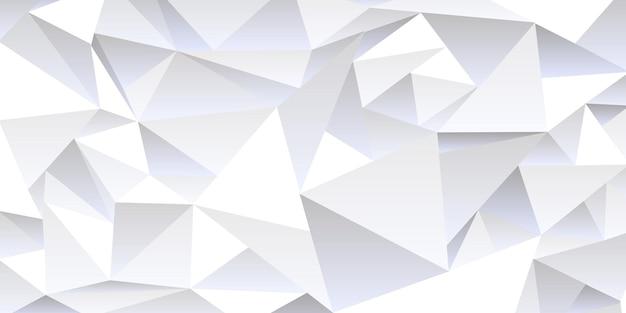 Grauer zerknitterter abstrakter hintergrund, low-poly-stil. moderne vektorschablone der beschaffenheit für design, geometrische tapete