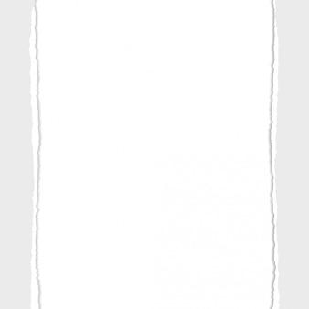 Gray vector ripped oder heftiger papierteiler-hintergrund