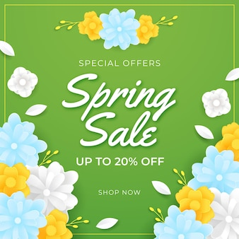 Green spring sale