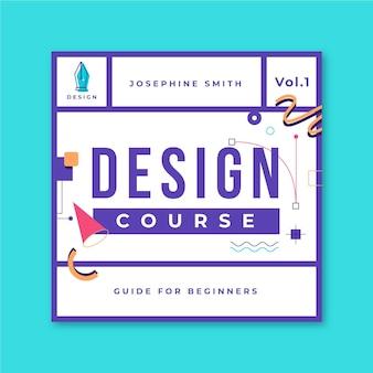Grid design cd cover vorlage