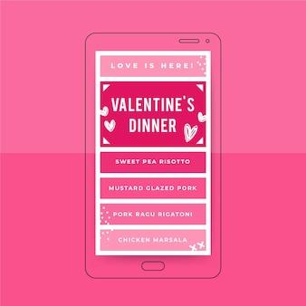 Grid valentinstag instagram story vorlage