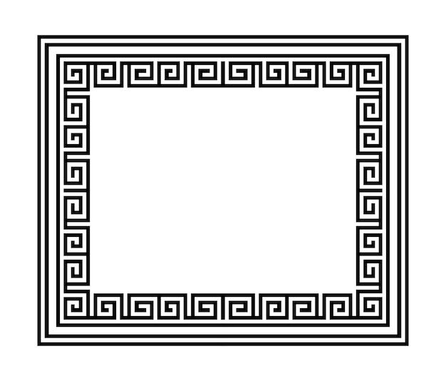 Griechischer mäander. nahtloses geometrisches muster. vektor-eps 10.