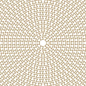 Griechischer schlüssel rundes muster typisch ägyptische assyrische und griechische motive kreisstruktur