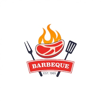 Grill-grill-logo-vorlage