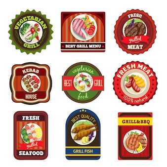 Grillgeschirr embleme
