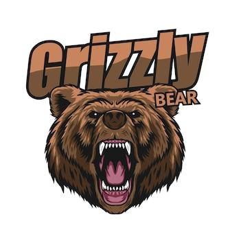 Grizzlybärenvektor