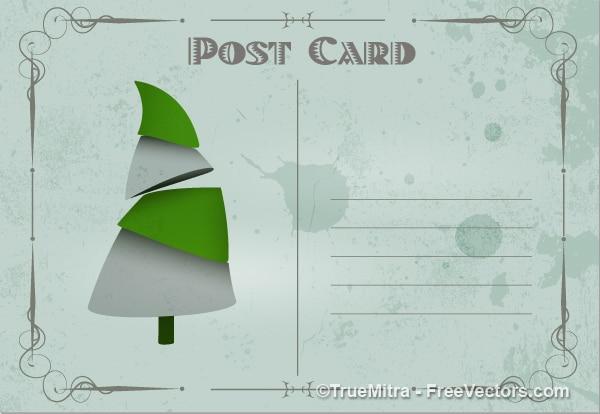 Grobe weihnachtskarte dirty textur