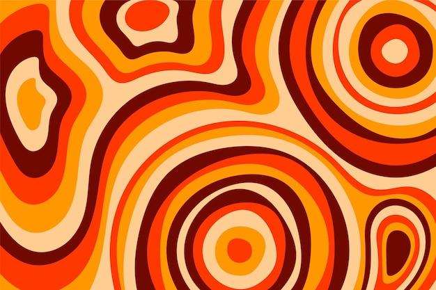 Grooviger psychedelischer hintergrund