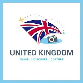 Großbritannien travel logo